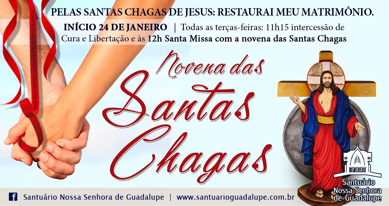 Novena das Santas Chagas – Restaurai o meu Matrimônio!