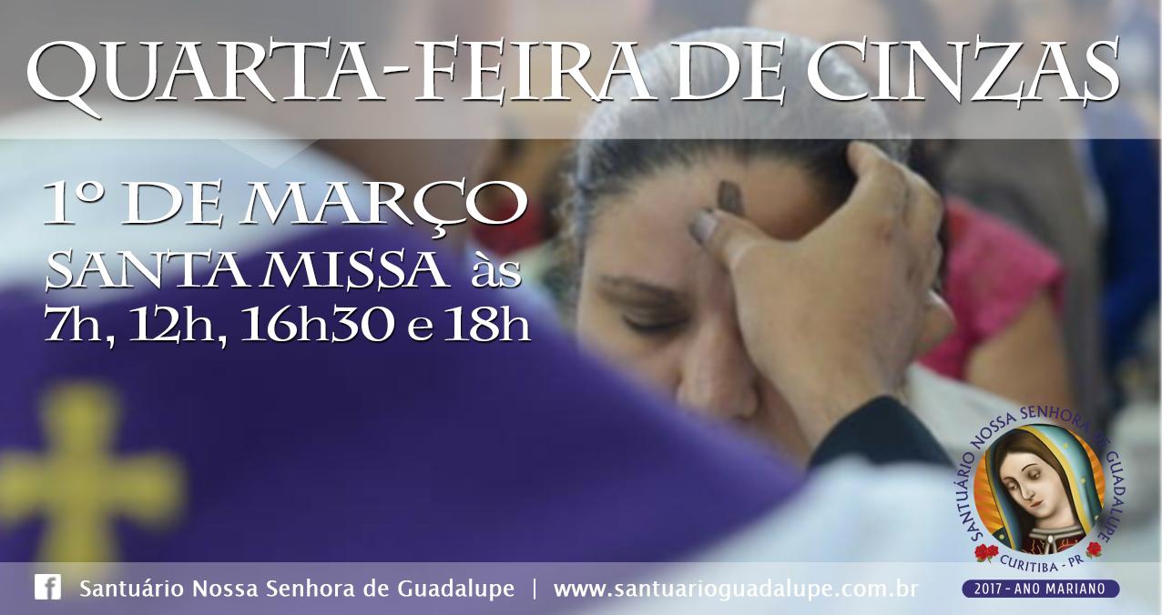 Santa Missa de Quarta-Feira de Cinzas