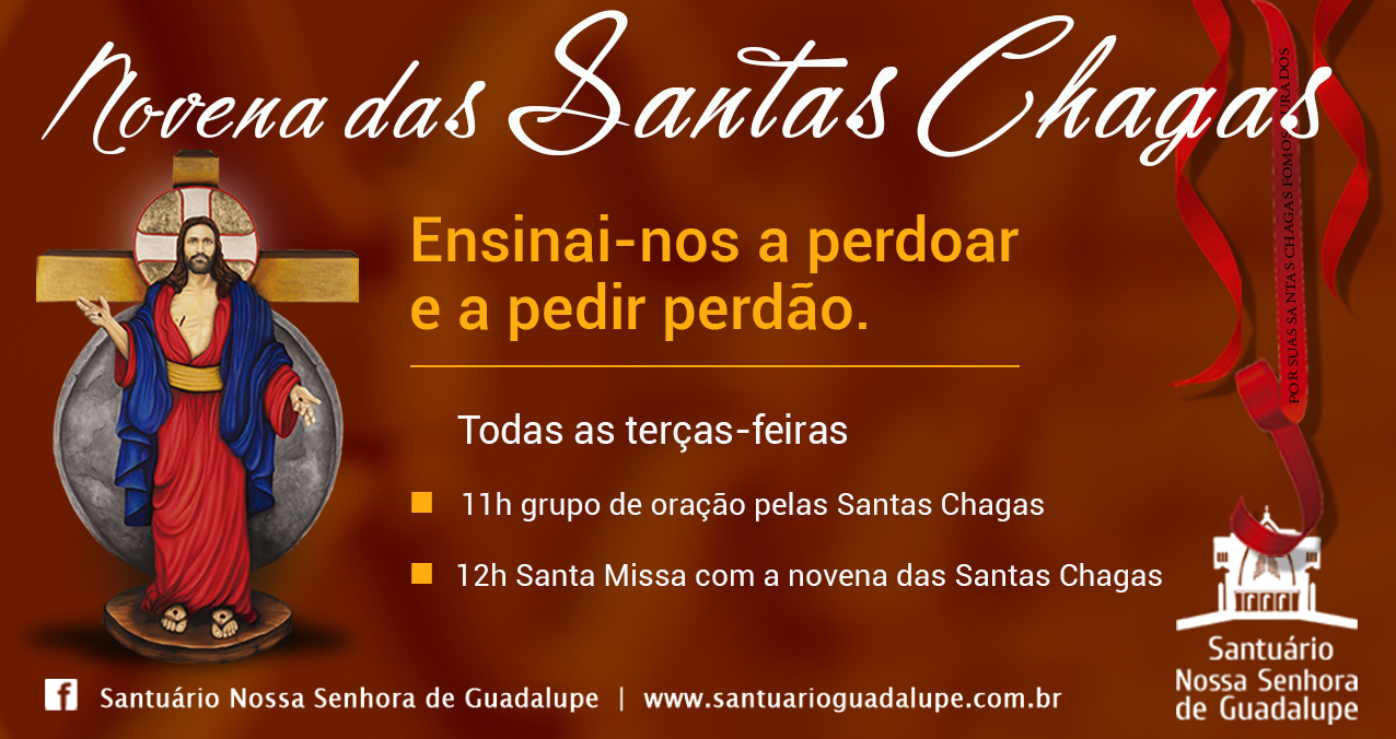 Novena das Santas Chagas – Ensinai-nos a perdoar