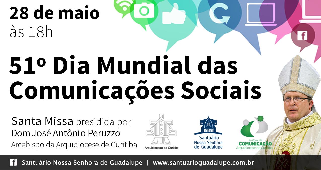 28/05 – Dia Mundial das Comunicações Sociais