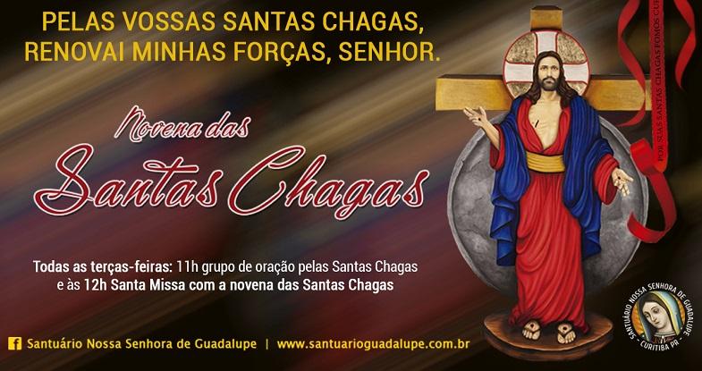 SANTAS CHAGAS_NOVENA_eventos