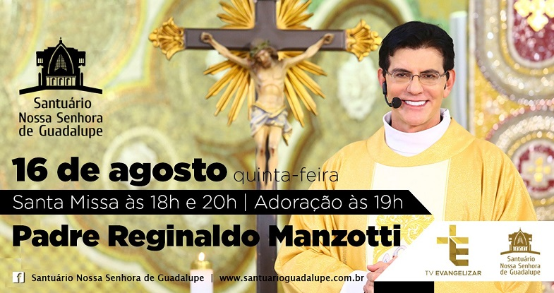 16/08 – Santa Missa e Adoração