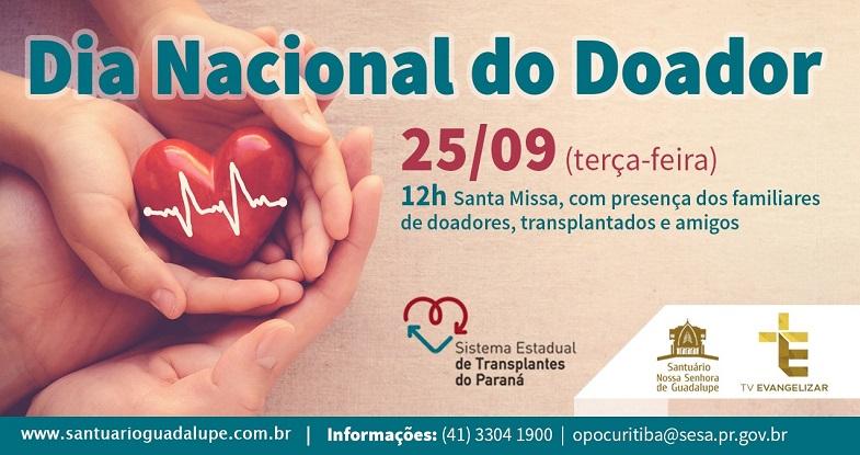 25/09 – Dia Nacional do Doador