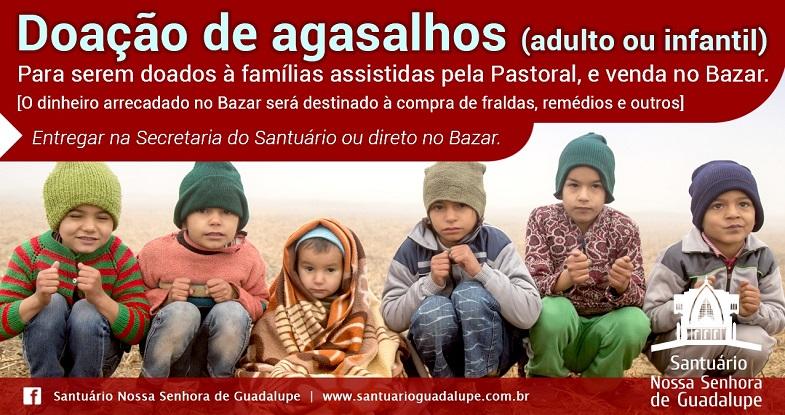 Doação de Agasalhos